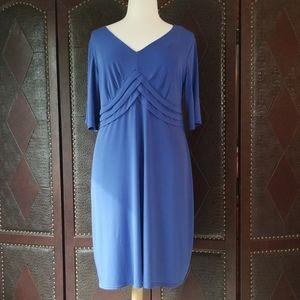 Avenue Blue Empire Waist Dress 18/20